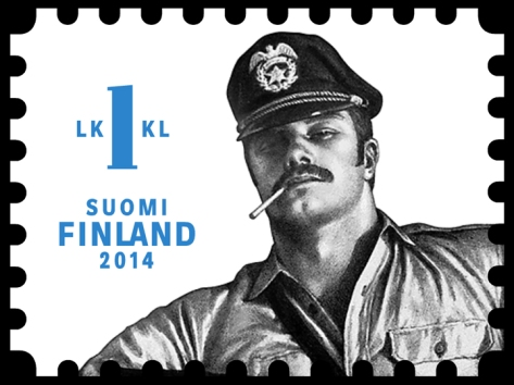 Stamps featuring the work of Touko Laaksonen will be released this fall in Finland.